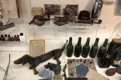 From the U-boat Museum in Birkenhead--objects from inside a German submarine.