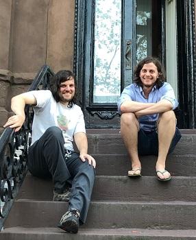 Aaron (left) and Benjamin