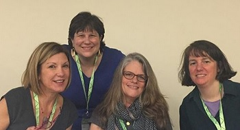 NCTE panel with Candace Fleming, Melissa Stewart, Alyson Beecher and myself.
