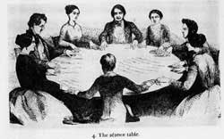 The séance table